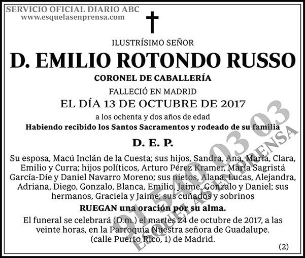Emilio Rotondo Russo